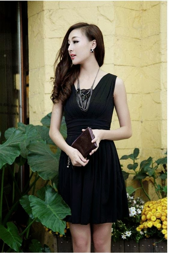 dam%2Bvay%2Bd91310 6 Phong cách thời trang nữ nào sẽ thích hợp cùng với phái nữ ở tháng hè này?