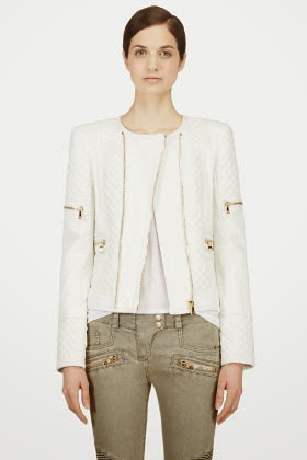 http://www.ssense.com/women/product/balmain/white_lambskin_quilted_jacket/94632