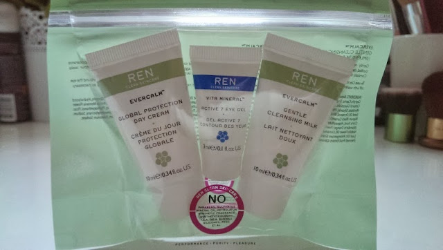 REN skincare freebies