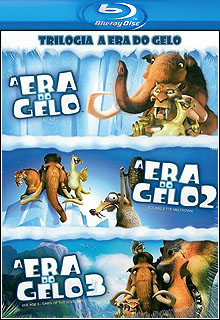 Trilogia A Era do Gelo BluRay 720p Dual Áudio