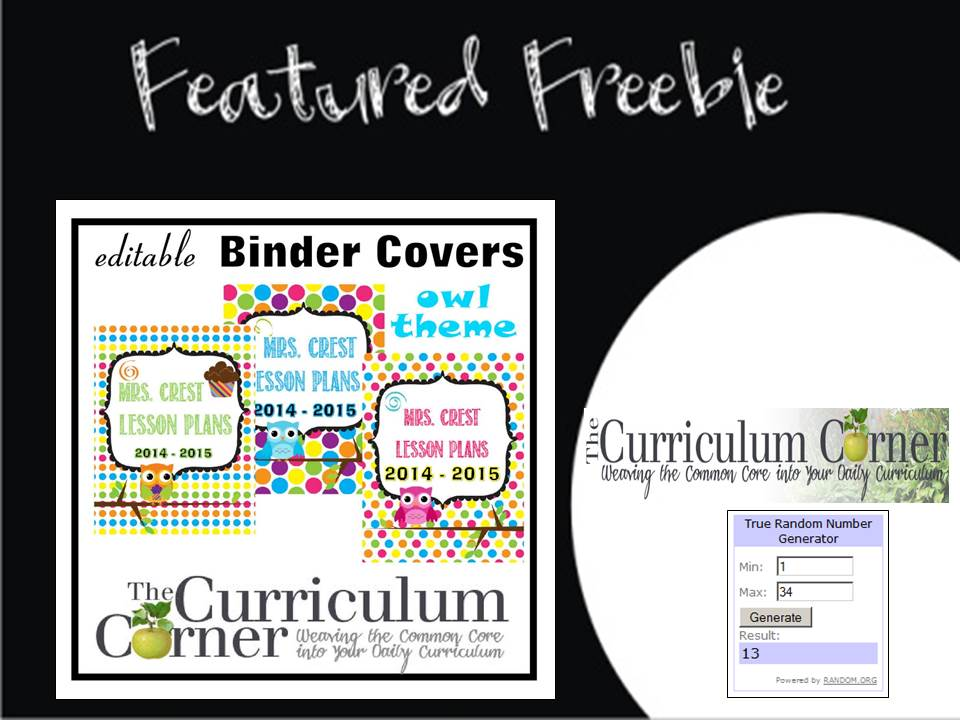 http://www.thecurriculumcorner.com/thecurriculumcorner123/2014/06/20/editable-owl-themed-binder-covers/