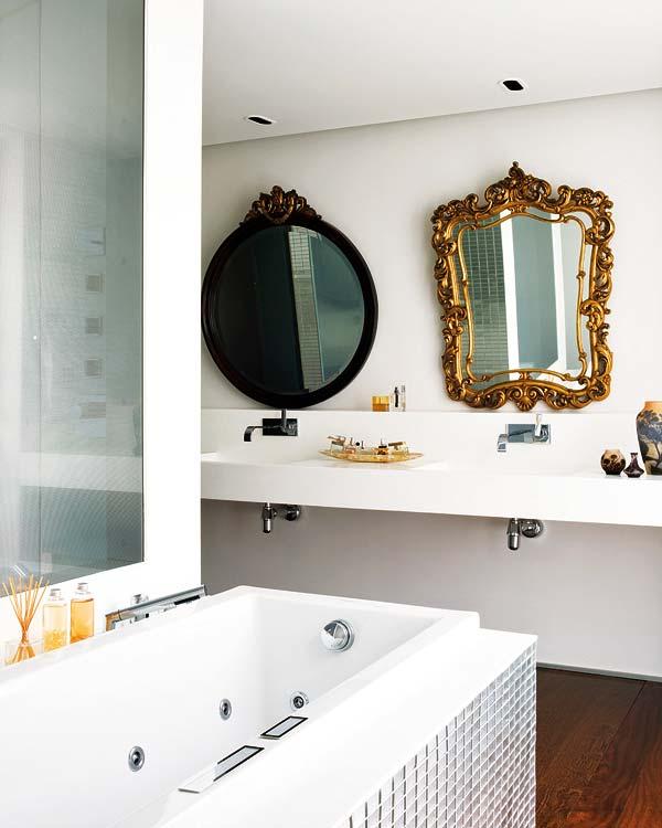 las tiendas de antigedades o el rastro de madrid disponen de infinidad de estas reliquias espejos para espacios