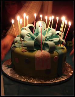 صور تورتة عيد ميلاد به شمع 2013