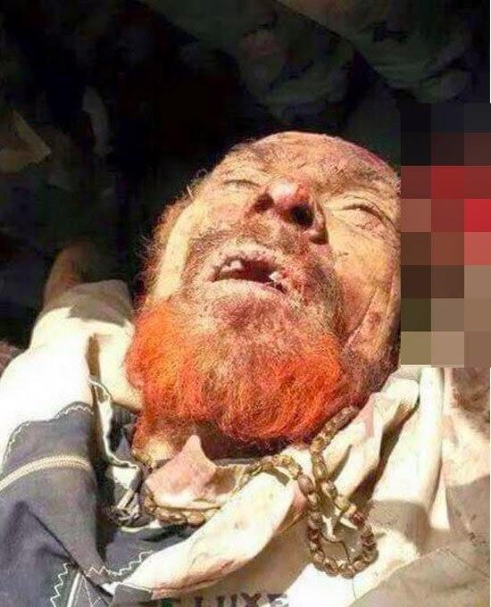 صور عزة الدورى نائب صدام حسين بعد قتله فى عملية للجيش العراقى