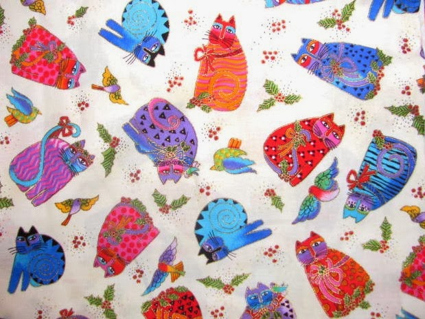 Elaine's Creative Works: Jo ann Fabric online..Laurel Burch