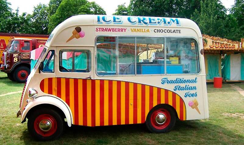 Vintage Ice Cream Trucks 64