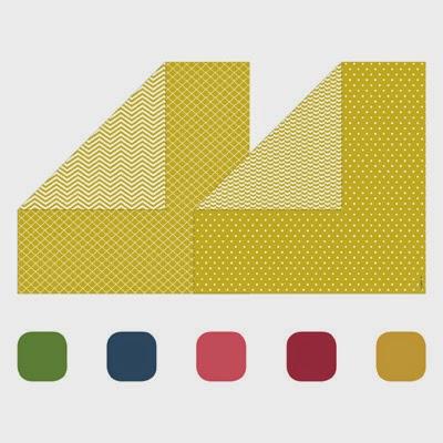 130137 2012-2014 In Color Designer Series Paper Stack