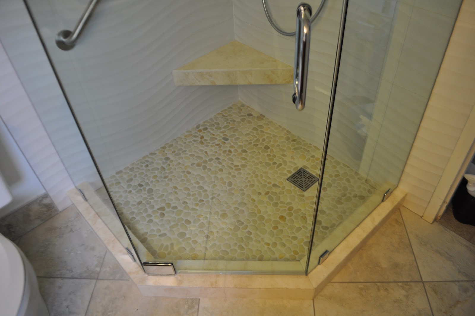 floor shower and tile inspirations x mosaic