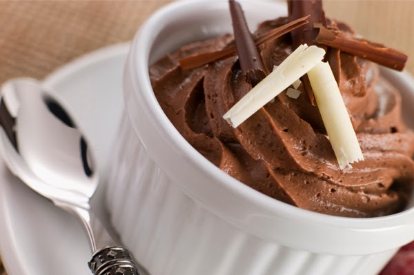silk chocolate mousse