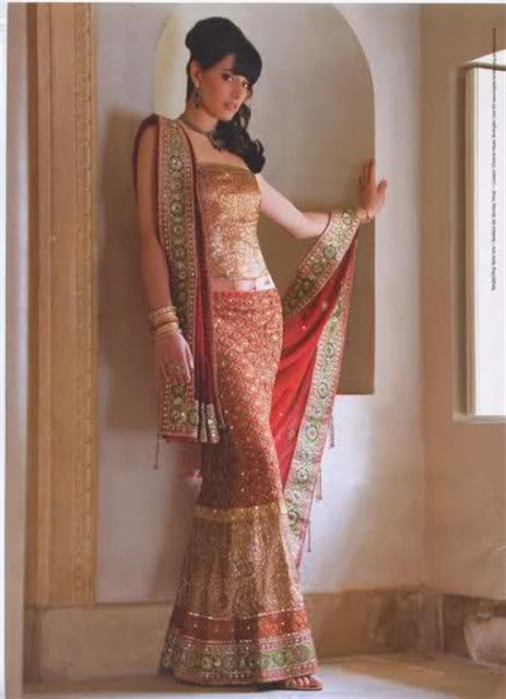 Indian Fish Cut Lehnga Trend