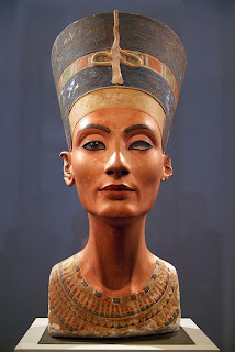 Bust of Nefertiti - front view