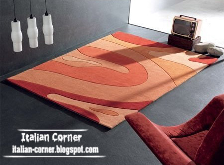 Modern Italian carpets, modern rugs colors, models