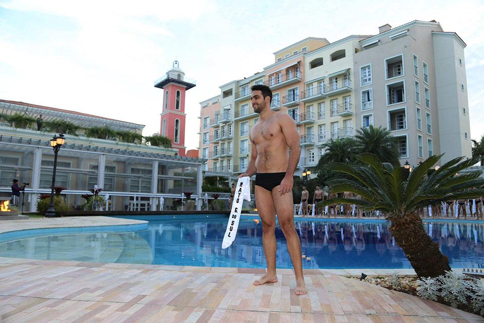 Mister Mato Grosso do Sul - Marcel Dauzacker, 28 anos, 1,89 m - Foto: Leonardo Rodrigues
