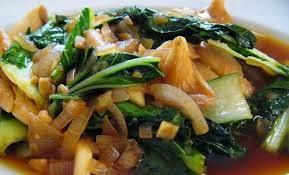 Resep dan Cara Membuat Tumis Putren Sawi Daging Jamur Shitake