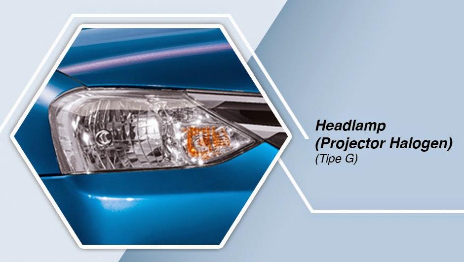 Headlamp (Projector Halogen) - Tipe G etios valco