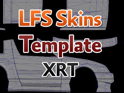 LFS Skins Template XRT HD