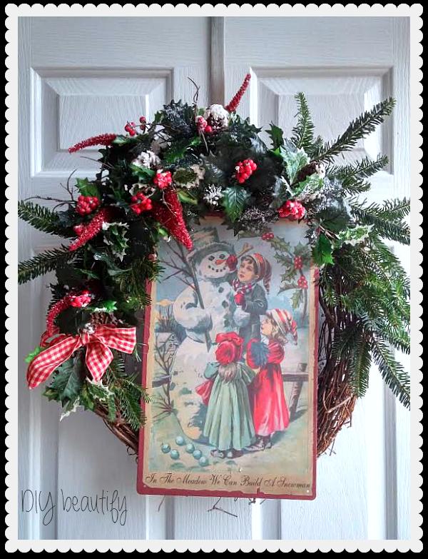 Holiday Home Tour DIY beautify blog