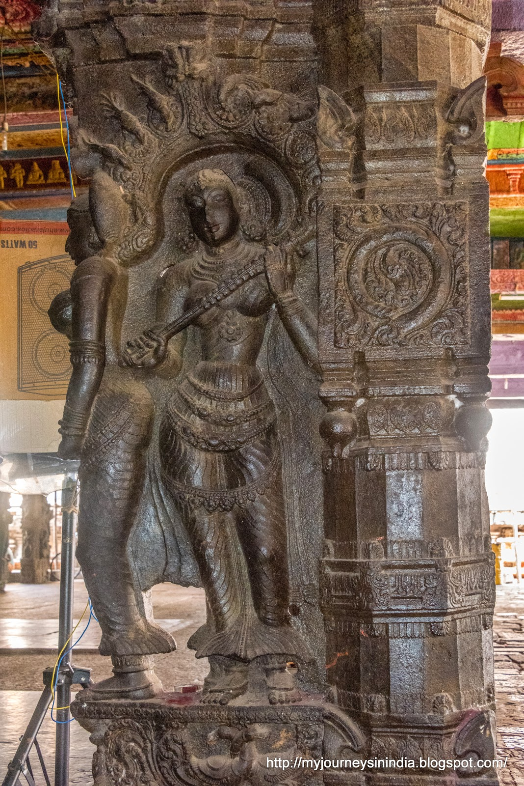Kumbakonam Ramaswamy Temple Pillars