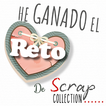 Ganadora del reto de scrapcollection