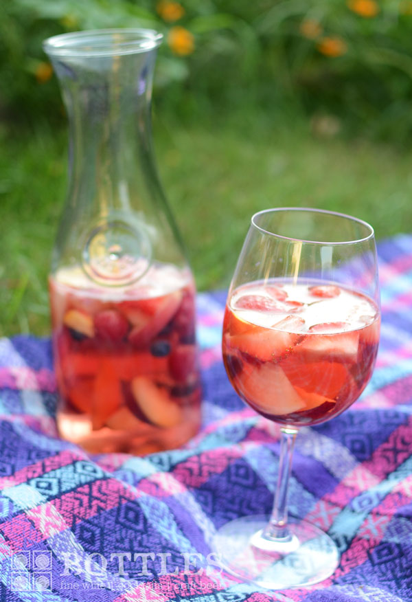 easy rose sangria best recipe