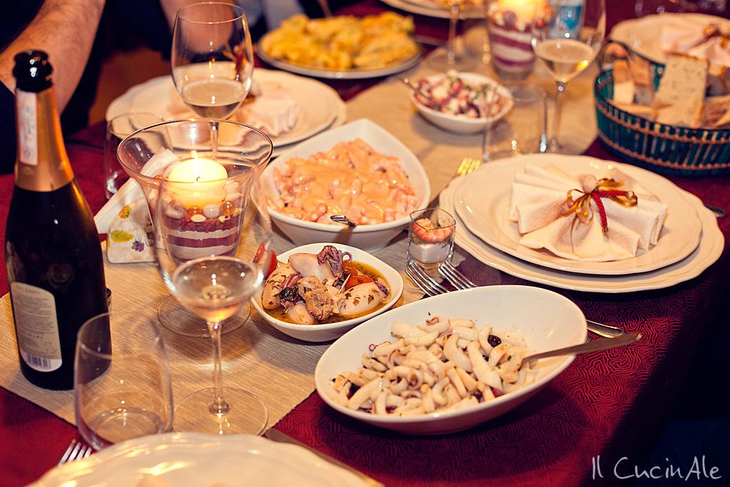 Cena di pesce per 7 persone