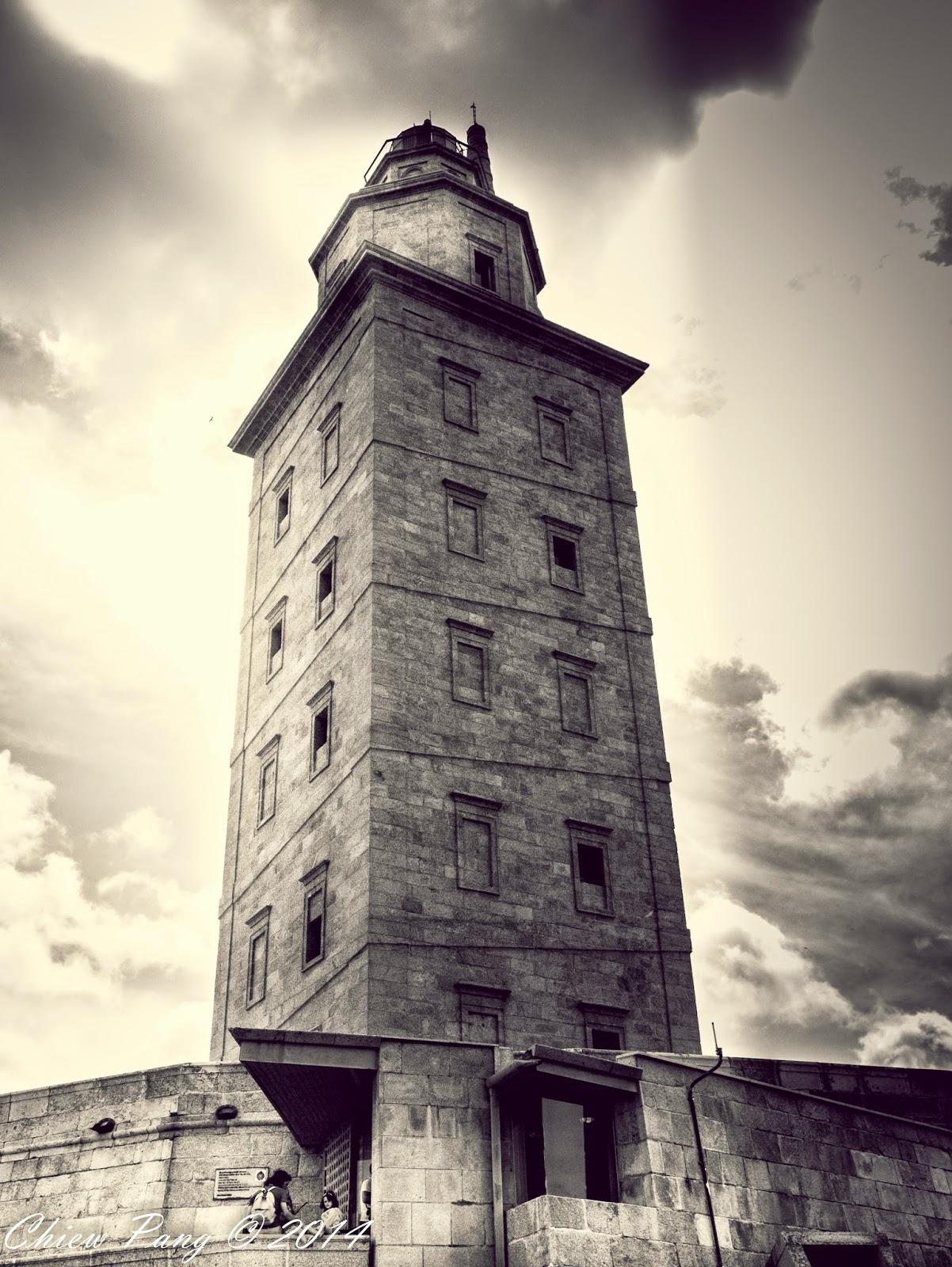 The Sculptural Park, Tower of Hercules, A Coruña, Galicia, Spain