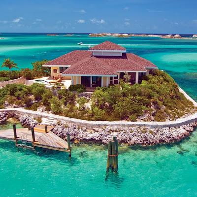 Islas Bahamas - Fowl Cay Bahamas Island