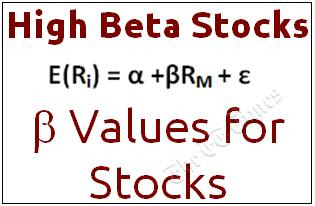 High Beta Stocks
