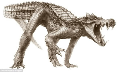 cocodrilos prehistoricos Kaprosuchus