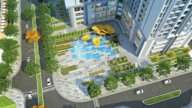 Phối cảnh chung cư Goldmark City