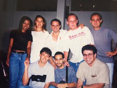 Encontro na UFSJ (Federal de São João del Rei em 1999)