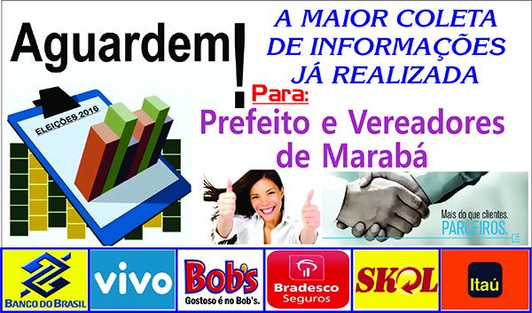 A MAIOR COLETA DE INFORMAÇÕES PARA PREFEITO E VEREADORES DE MARABÁ ....