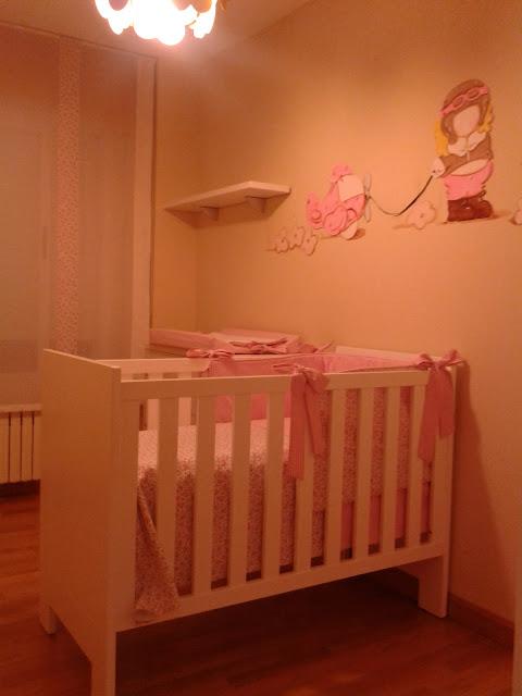 Deco chambre b b peinture murale pour chambre de petite - Peinture pour chambre fille ...