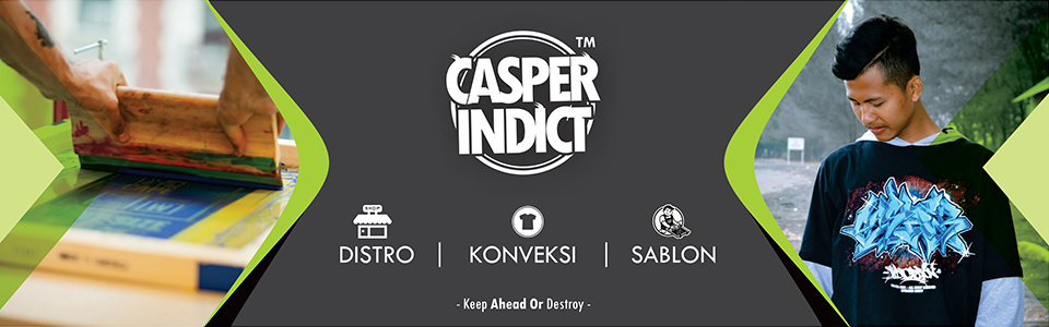 DISTRO DAN SABLON DEMAK CASPER INDICATION
