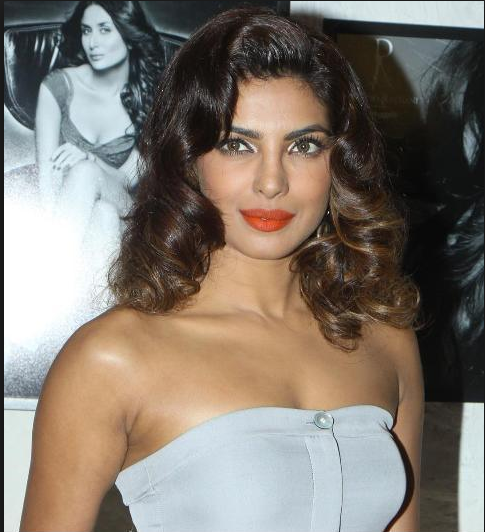 Priyanka Chopra in short white Capri