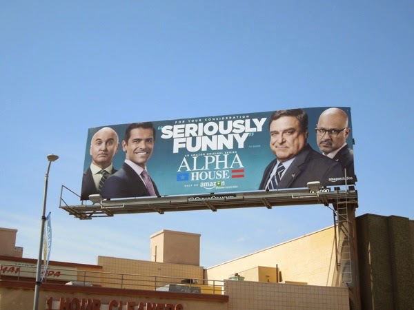 Alpha House Emmy 2014 billboard