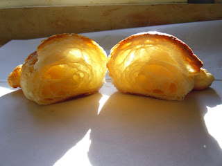 Morning sunshine in the croissant