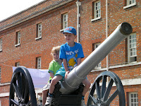 riding the cannon