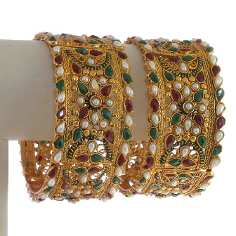 Wedding-Wear-Kundan-Bangles