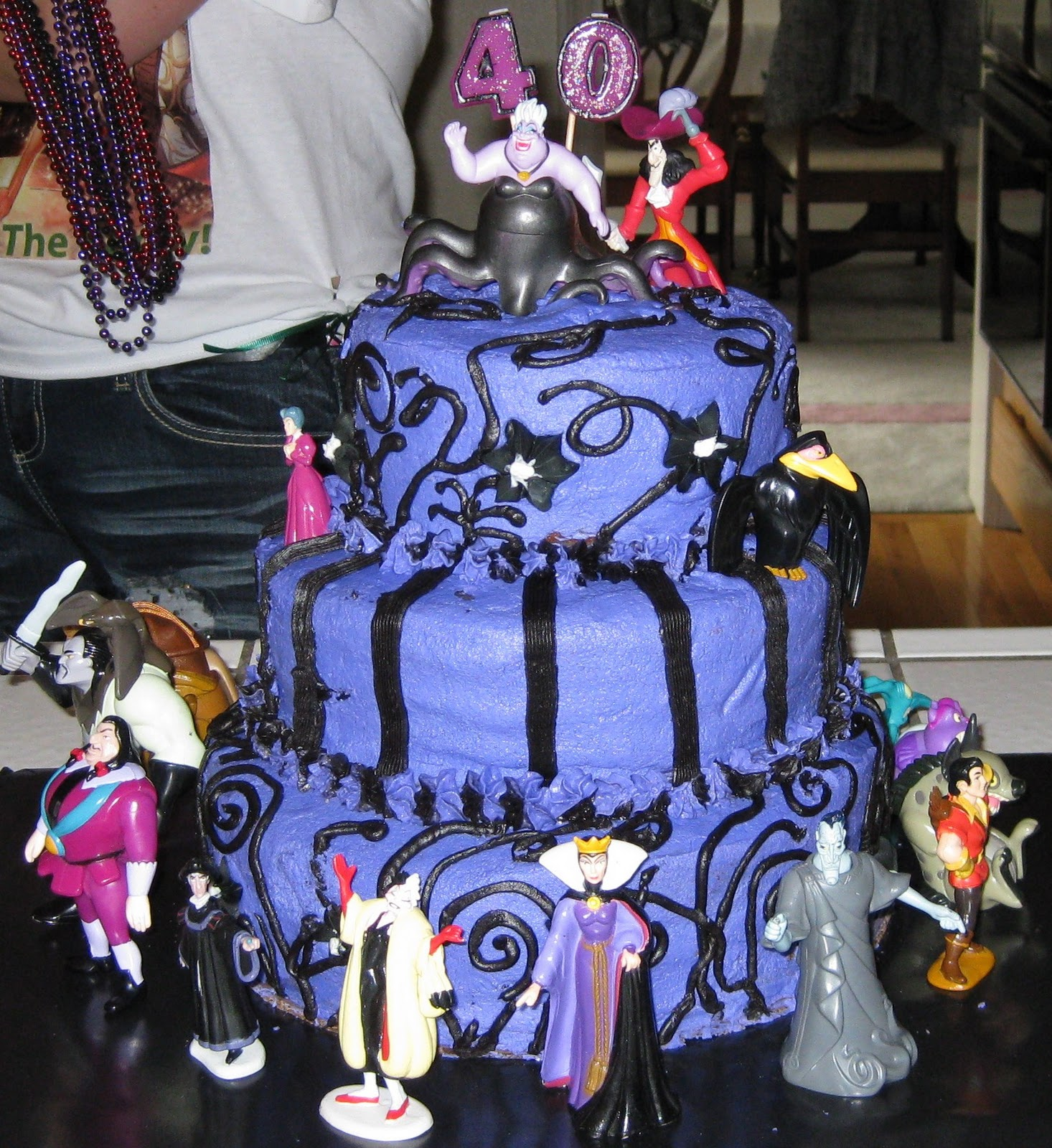 CJ Adventures in Cupcaking Disney Villains Cake