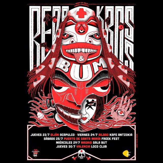 Que vienen REDD KROSS!!!!! - Gira Julio 2015