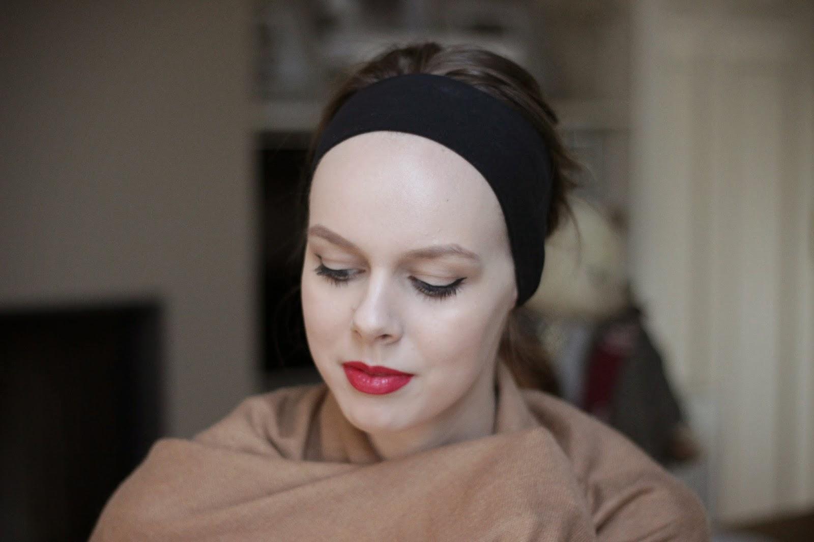 retro glam makeup