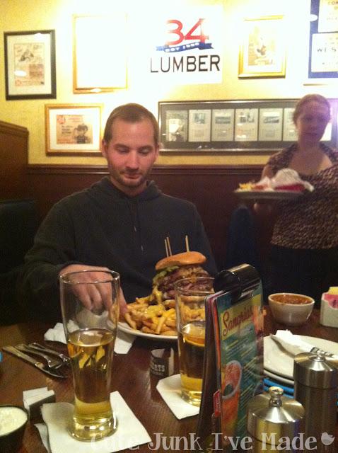 Max & Erma's Burger Challenge