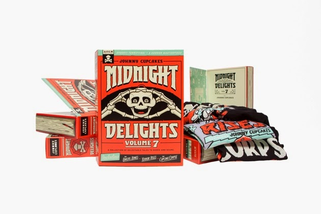"Something in the Cupcake Mix Volume 7 ""Midnight Delights"" Halloween Box Set by Johnny Cupcakes"