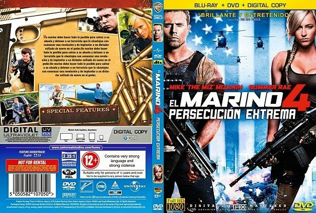 The Marine 4 Moving Target Poster
