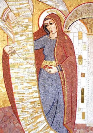 La FMA prega con Maria e come Maria