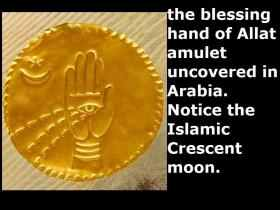 Image result for pic of Islams crescent moon worship