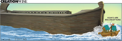 Clip of Noah's Ark from Answers in Genesis