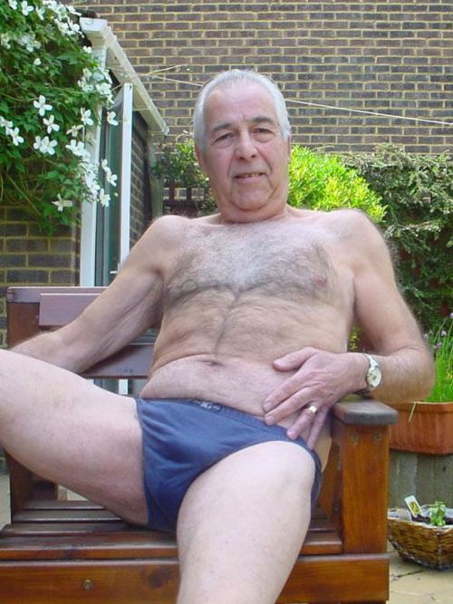Older Men Naked Hairy Silver Daddies