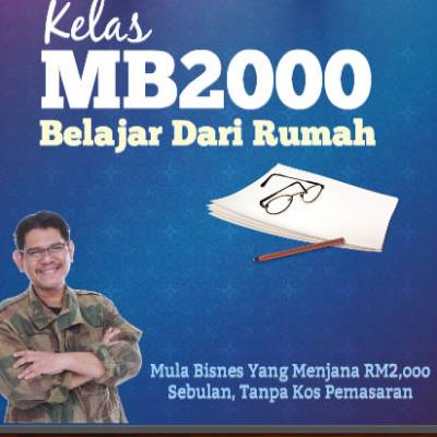 KELAS BISNES ONLINE MB2000